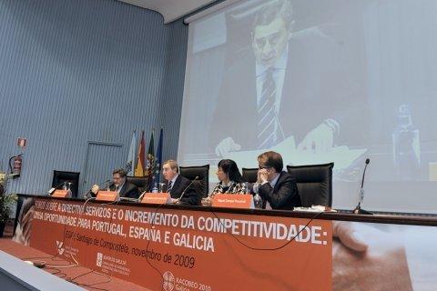 Imaxes sexta parte - Foros sobre a directiva servizos e o incremento da competitividade: Unha oportunidade para Portugal, España é  Galicia